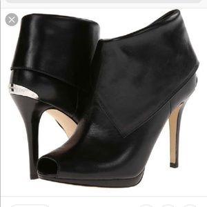 Michael Kors Black Kendra Ankle Booties